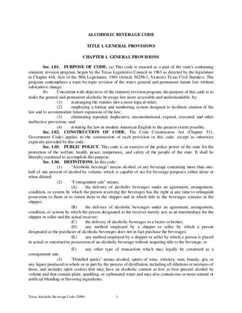 section 42 01 penal code 042910 tabc laws