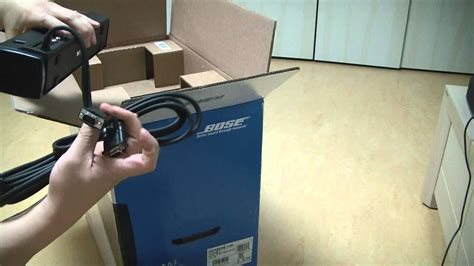 bose cinemate  home theater speaker system unboxing