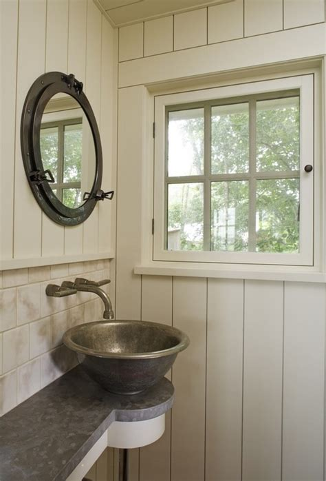 Porthole Windows Bathroom Decorating How To Style Up A Small Bathroom