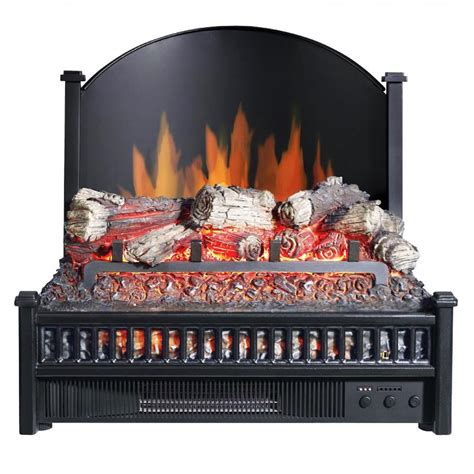 where can i buy an electric fireplace pleasant hearth electric log insert with fireback li 24