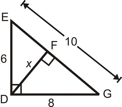 Find Similar Inscribed Similar Triangles Read Geometry Ck 12 Foundation