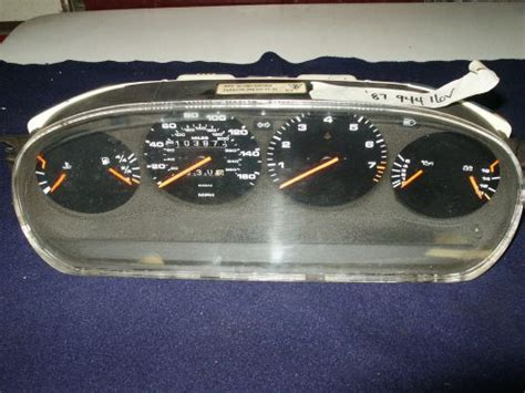 service manual manual repair autos 1987 porsche 944 instrument cluster porsche 944 dash