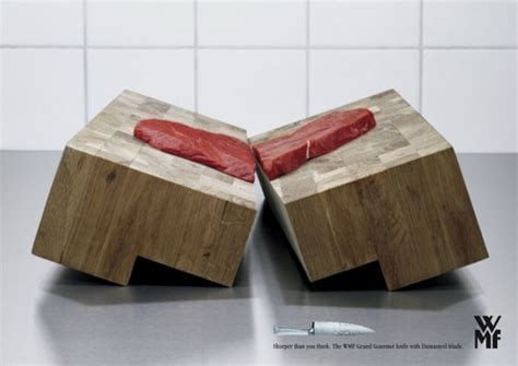 Wmf Kitchen Knives how sharp knife can be best knife ads idea design swan