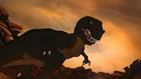 Standar Sing Wave Blue copy of land before time sharptooth attack and