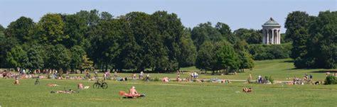 Englischer Garten Parken by Englischer Garten Park In Munich Travel Guide To Munich