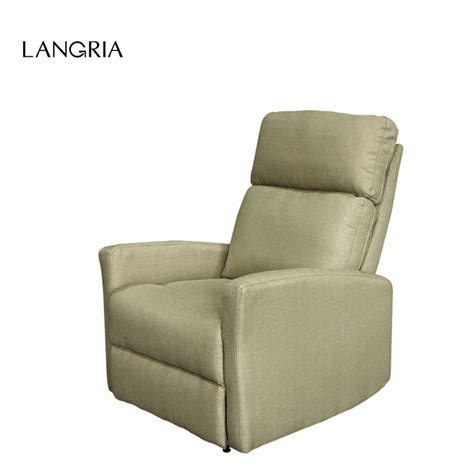 armchair and chaise lounge langria modern linen upholstered recliner armchair sofa