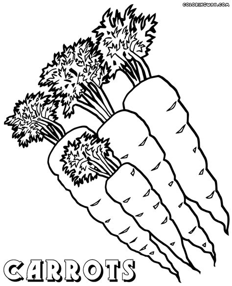 Carrot Coloring Pages Coloring Pages To Download And Print Carrots Coloring Pages