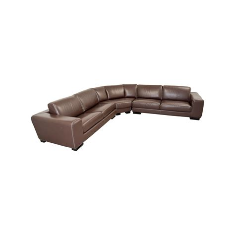 Roche Bobois Sofa Bed by 73 Roche Bobois Roche Bobois Brown Leather