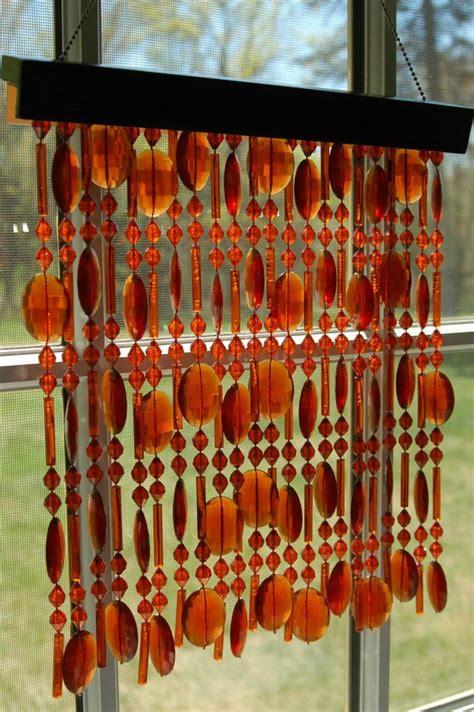 hanging bead curtains vintage beaded curtain window decor suncatcher wall