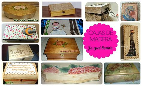 materiales para decorar cajas de madera cajas de madera decoradas manualidades