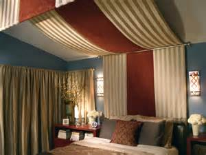 Bedroom Canopy Material How To Decorate Slanted Ceilings