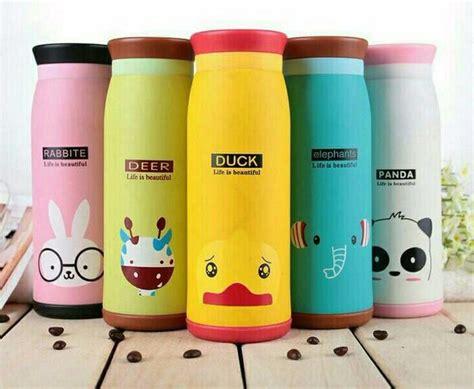Termos Air Karakter By Oreo Shop jual termos air animal karakter botol minuman anak lucu