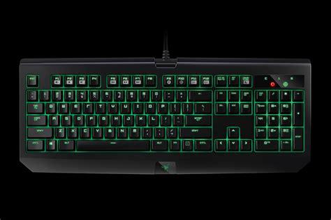 Kaos Black And Green Razer razer blackwidow ultimate mechanical keyboard