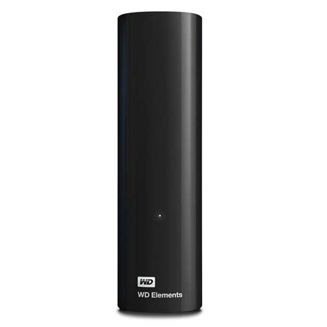 Hardisk Wd 4tb western digital 4tb elements external desktop disk drive
