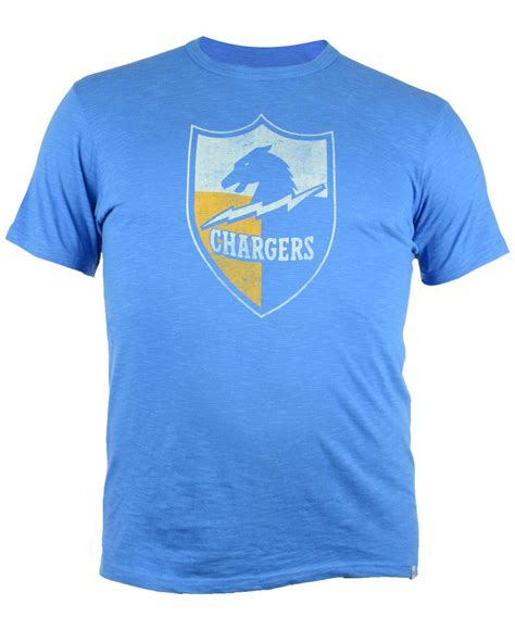 Branded Arizona Blue Shirt 47 brand s san diego chargers retro logo scrum t shirt in blue for lyst