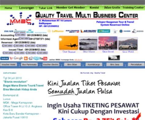 membuat usaha travel qualitytravel bpn com hanya dengan modal 3 5jt anda sudah