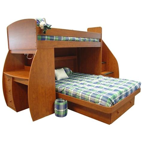 over bed desk twin over full bunk bed with desk best alternative for kids room homesfeed