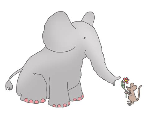 Mouse Elephant mice clipart elephant pencil and in color mice clipart