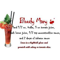 bloody mary halloween drinks and drinks on pinterest