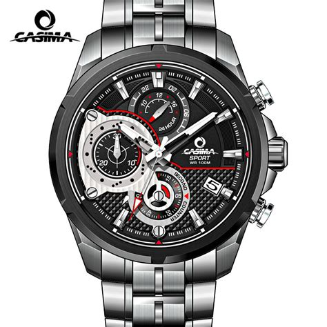 casima relogio masculino mens watches top brand luxury