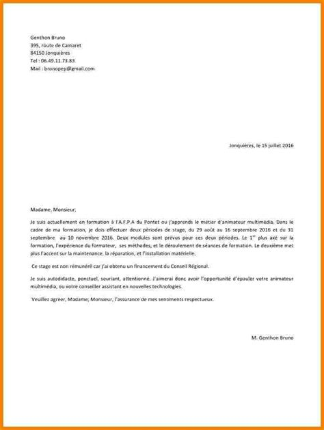 lettre de motivation bafa lettre de motivation