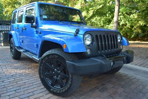Used Jeeps For Sale In Michigan Sell Used 2014 Jeep Wrangler 4wd Edition In Leroy