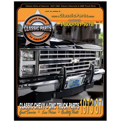 1987 gmc parts 73 87 chevy truck catalog classic chevy truck parts