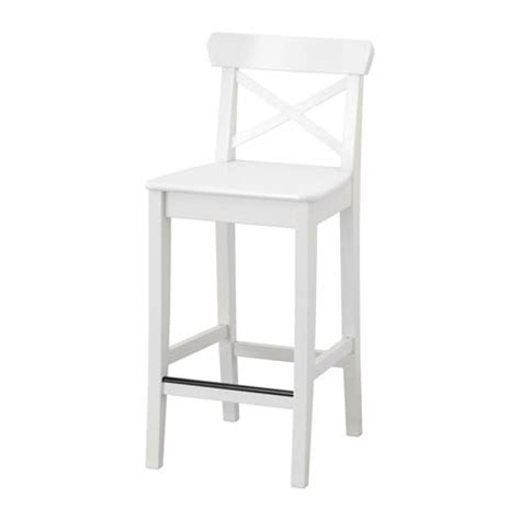 Ikea Ingolf Bar Stool Review by Ingolf Bar Stool With Backrest 24 3 4 Quot Ikea