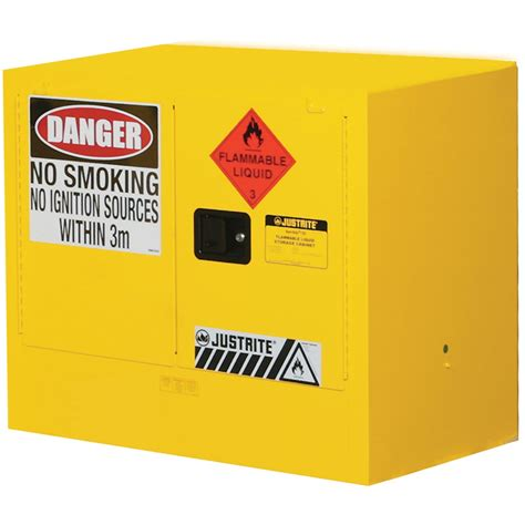 flammable liquid storage cabinet justrite bench 100l flammable liquid storage cabinet