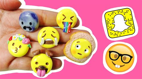decorar fotos snapchat filtros de snapchat en emoji manualidades kawaii youtube