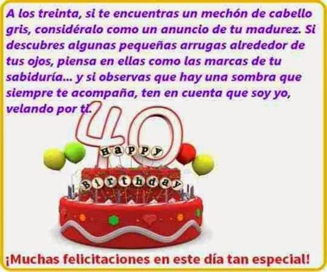 imagenes chistosas de cumpleaños numero 40 felicitaciones por tus 40 186 cumplea 241 os frases de cumplea 241 os