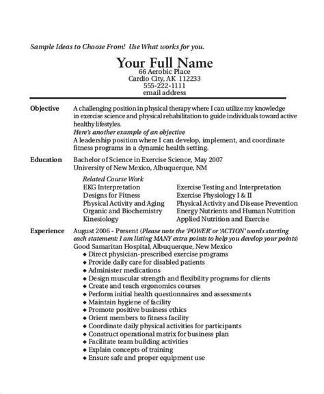 9 resume objective statement exle free sle