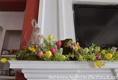 decorating the mantel for ideas for decorating for and easter