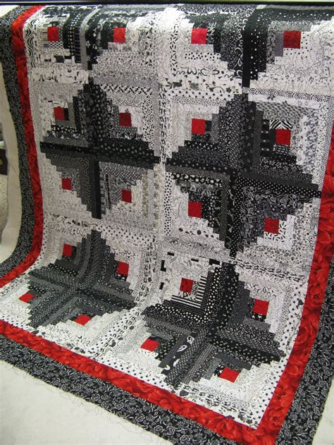 Log Cabin Patchwork Quilt - 194 best quilting log cabin time images on