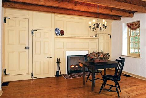 colonial homes interior uncovering a colonial era farmhouse house restoration products decorating