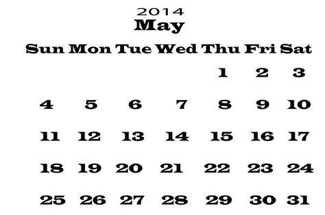 calendar may 2014 template 2014 calendar may template free stock photo