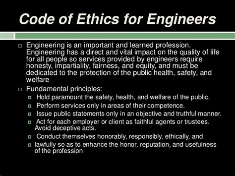 ethics  engineering profession kamal