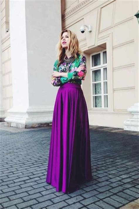 Alensa Purple 20 ways t w r a m xi skirt in st l in 2017