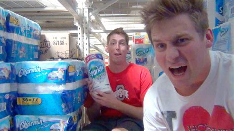 How To Make A Paper Fort - building a toilet paper fort