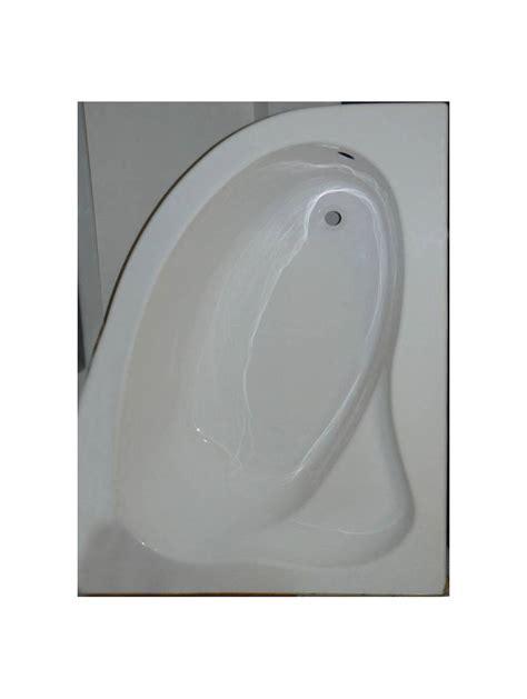 Baignoire Balneo 150x100 baignoire d angle droite blanche 150x100 sans tablier