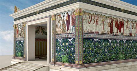 casa dello scaffale roma ara pacis in kleur rome nu