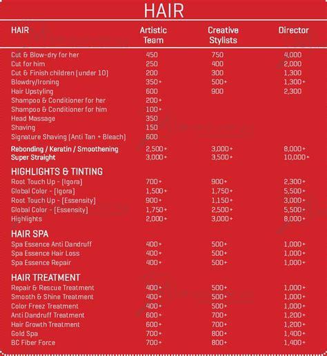 Haircut Express Prices | ambika pillai haircut cost newhairstylesformen2014 com