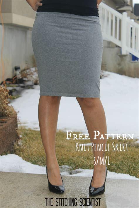 free skirt patterns knit pencil skirt the stitching