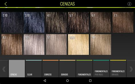 inoa supreme colour chart inoa applications android sur play