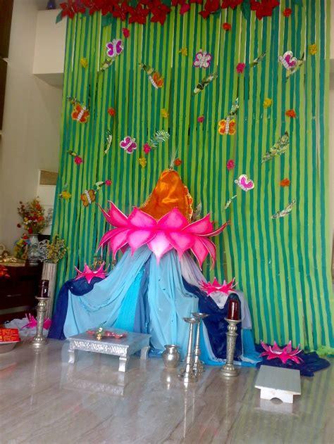 ecobappa eco friendly decoration ideas 16 best images about ganpati decoration on pinterest