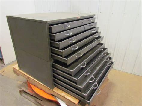 flat file drawer dimensions hamilton 10 drawer steel blueprint flat file cabinet 41