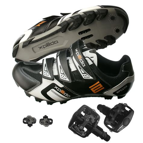 mountain bike shoes and pedals xpedo mountain bike bicycle cycling shoes wellgo wpd 823