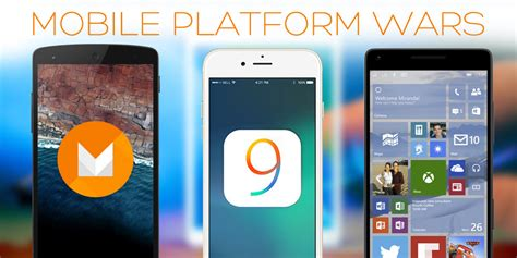 ix android android m ios 9 or windows phone 10 the winner takes most