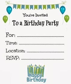 free boy birthday invitation templates 1000 images about invities on free printable