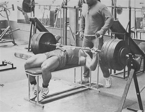 old bench press how to train gain the workout regime i used to gain